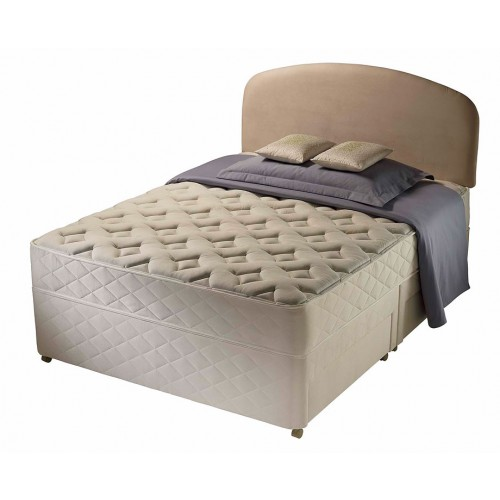Silentnight winchester divan bed double 4 39 6 for Silent night divan beds