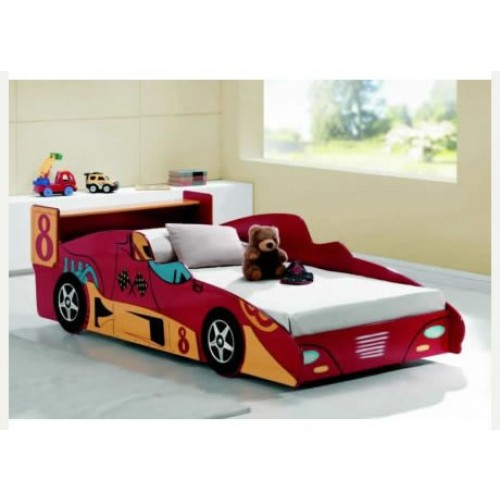 kids f1 red racing car bed