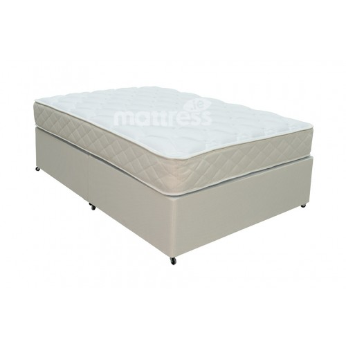 Health sense orthopaedic divan bed double 4 39 6 for Double divan bed with firm mattress