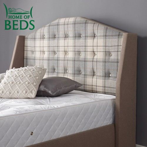 Mullberry 3 39 single bed headboard for Mullberry home