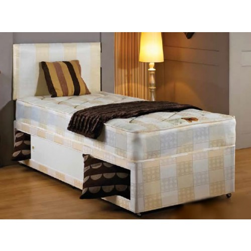 York 3 single bed divan for Best single divan beds
