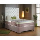Luxury Sommerset Memory Pocket Deluxe Divan Bed - (4')