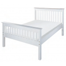 Buckingham HE White Bedstead - Small Double (4')