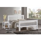 "Buckingham HE White Bedstead - Double (4'6"")"