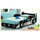 Kids F1 Black Racing Car Bed