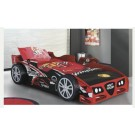 Kids Red Night Racer Bed