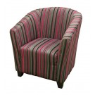 Toni Luxury Fabric Club Chair