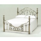 Harmony Florence Brass/Metal Bed (4'6)