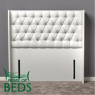 "Gabriella 4'6"" Double Bed Headboard"