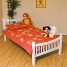 Jordan White Bed Frame - Single (3')