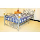Juliana - Black or White Metal Bed (3')
