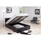 Harmony Milan Leather Storage Bed (5')