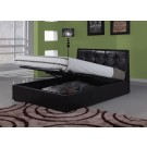 Harmony Modena Leather Storage Bed (4'6)