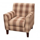 Oxford Checked Accent Chair