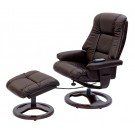 Rome Swivel Recliner & Foot Stool