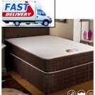 Luxury Sleep Eazy Memory Divan Bed - (3')