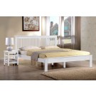 "Buckingham LE White Bed Frame - Double (4'6"")"