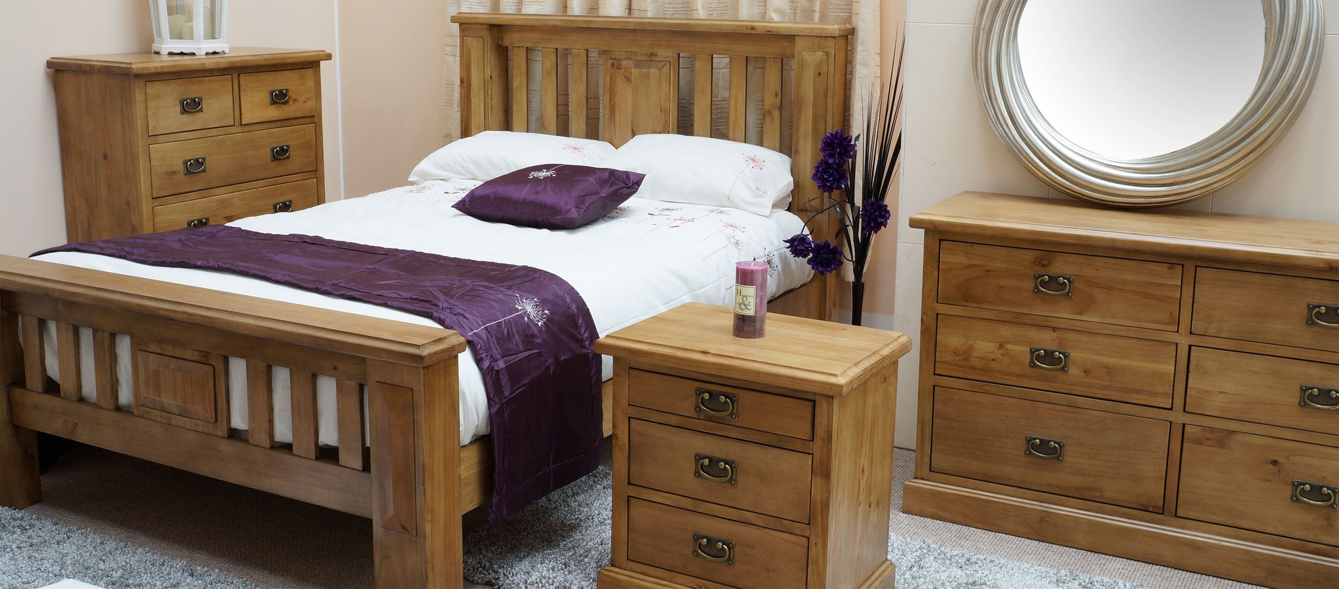 Queensland Range Bedroom furniture