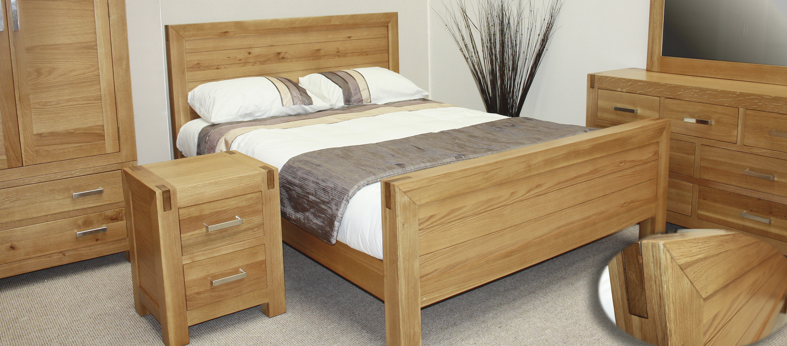 Somerset Bedroom Furniture Range